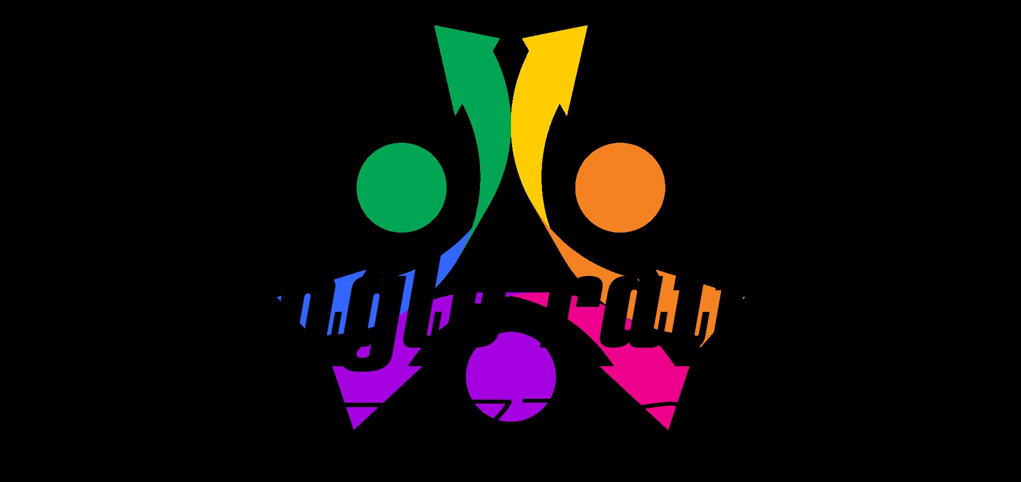 トライアングルレインボーロゴ