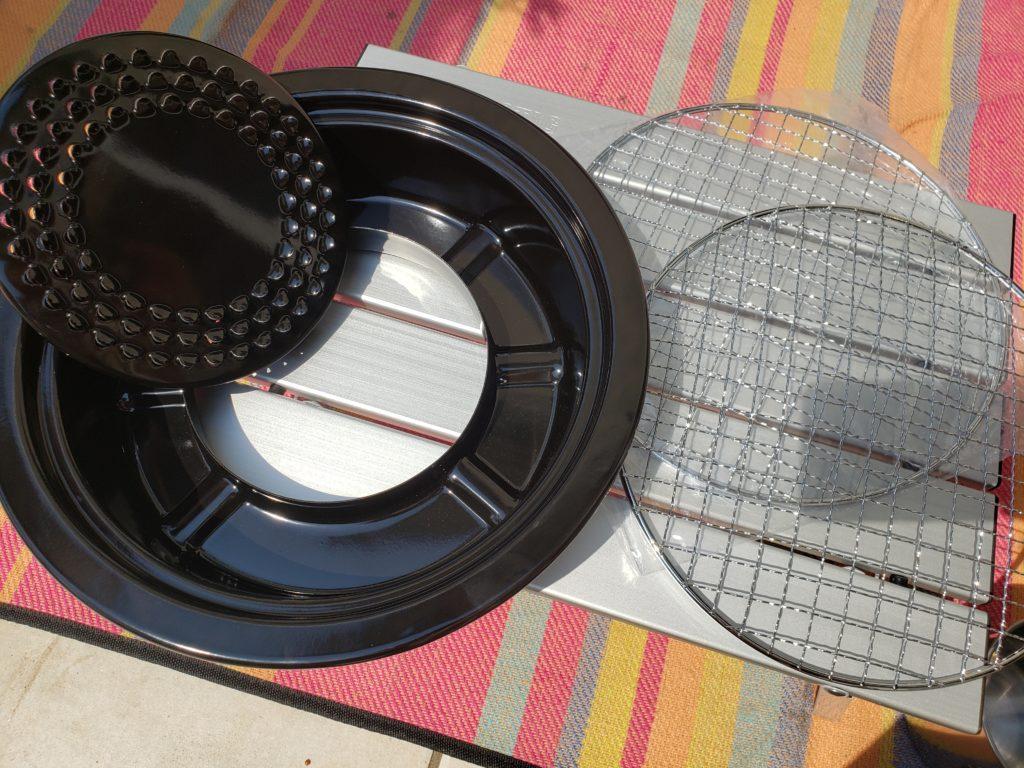 イワタニカセットコンロ用網焼きプレートの付属品